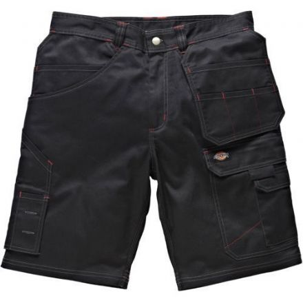 Men Dickies Red Hawk Pro Combat Short Black WD802